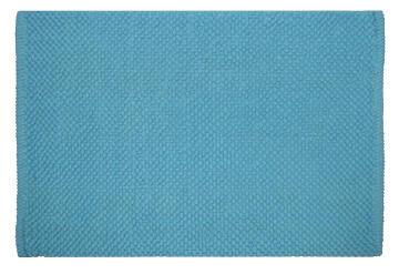 Bath mat cotton SENSEA Bubble2 Blue 50x80cm