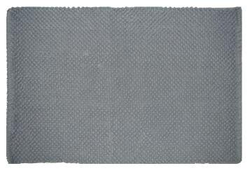Bath mat cotton SENSEA Bubble2 dark grey 50x80cm