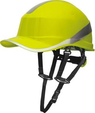 Safety Hat Baseball Shape Yellow