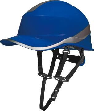 Safety Hat Baseball Shape Blue