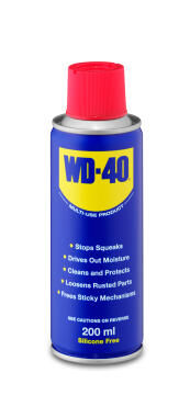 Lubricant WD 40 Spray 200Ml