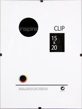 CLIP FRAME INSPIRE 15X20CM