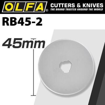 Rotary Blades Bla Rb45-2 OLFA 2 pieces