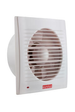 Wall Extractor Fan EUROLUX White 208mm