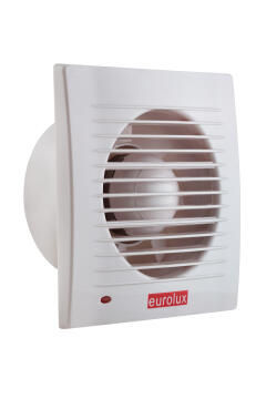 EXTRACTOR SQR WALL FAN 172MM WHITE
