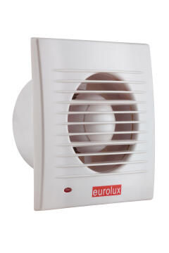 Wall Extractor Fan EUROLUX White 158mm