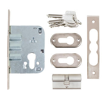 mcm 3-pin deadlock nickel 50mm