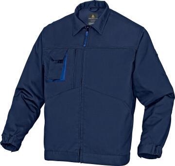 Work Jacket Deltaplus Polycotton Navy Size Small
