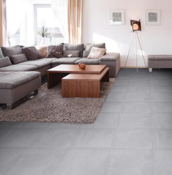 Floor Tile Ceramic Concreta Grey 600x600mm (2.16m2/box)