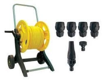 REEL EQUIPPED HOSE WITH 20M HOSE 12,5MM