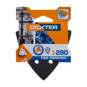Delta sand G280 metal/ DEXTER 5 pieces 93x93mm