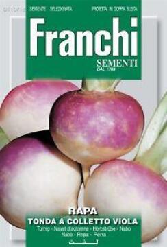Seed Turnip/Tonda Colleto Viola