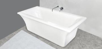 Bath Built inl acrylicNndlovu white 170x80x46cm