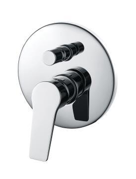 Shower mixer concealed diveter Aspera