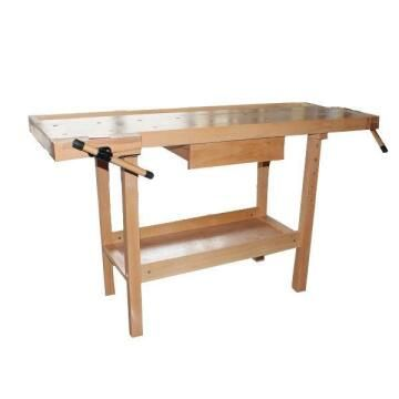 Toolmate Wooden Bench 2 Vices