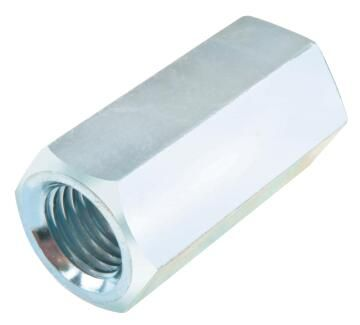 Connecting nuts zinc plated M14X40mm KG standers