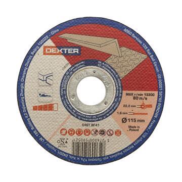 Cutting Disc Dexter Aluminium 115X1,6X22,2Mm