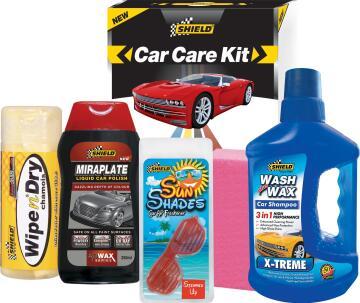 Car Care promotional kit SHIELD