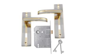 Lockset with handles key entry sirius mv 003 L&B security
