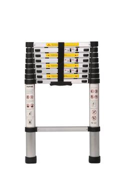 Telescopic ladder 2.6 M, 8 steps