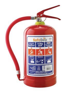FIRE EXTINGUISHER+BRACKET 4,5KG SAFE QUI