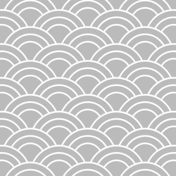 Wall Tile Pastel Grey Scallop Talavera 20X20Cm