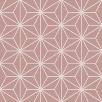 Wall Tile Pastel Pink Starling Talavera 20X20Cm