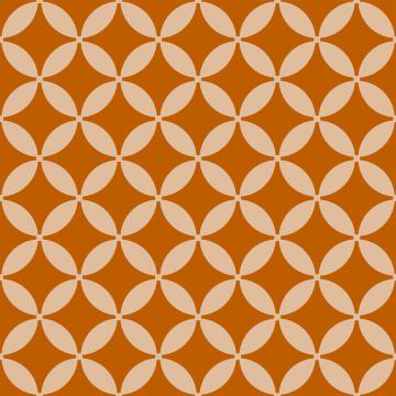 Wall Tile Burnt Orange Blossom Talavera 20X20Cm