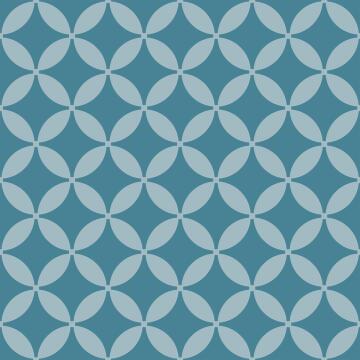 Wall Tile Teal Blossom Talavera 20X20Cm
