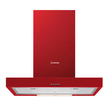 kitchen Extractor 90cm 580m3/h Red