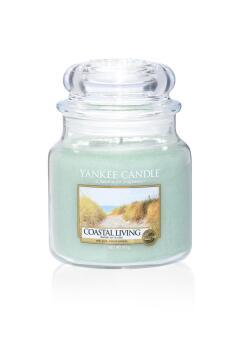 JAR CANDLE MED COASTAL LIVING