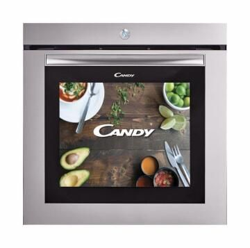 """Electric oven CANDY 60cm Multifunctions (10) - Touch Screen 19"""" - Inox - Wifi - Soft close"""