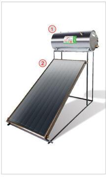 SOLAR GEYSER HEATTECH 200L FULL KIT