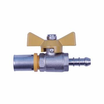 """1/2"""" Pex ball valve includig hosetail"""