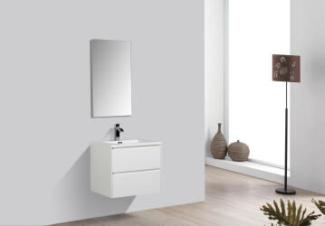 Enzo cabinet double drawer White 800 (cabinet only)