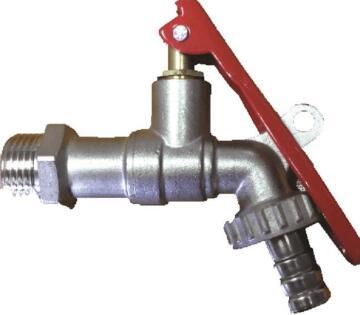 """Lockable tap hosebib 1/2"""" x 3/4"""""""
