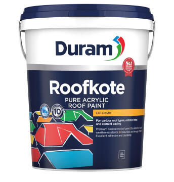 Acrylic roof paint DURAM Roofkote Graphite 20L