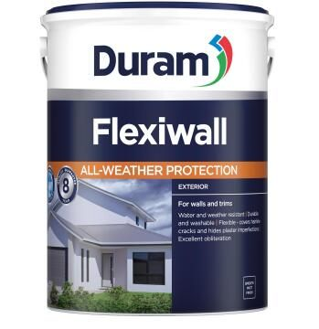 Exterior paint DURAM FlexiWall White 1L