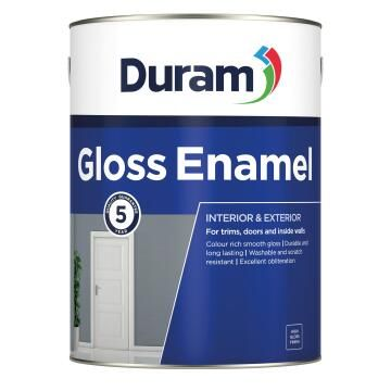 Paint DURAM Gloss Enamel Dark Brown 1 Lt
