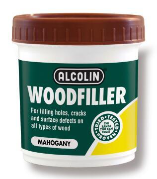 Woodfiller ALCOLIN mahogany 200g
