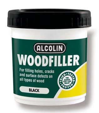 Woodfiller ALCOLIN 200g black