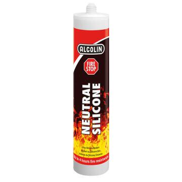 Neutral Silicone ALCOLIN Fire Stop 300ml