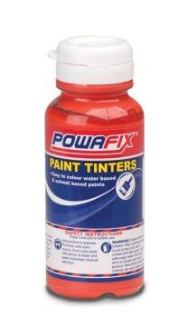 Paint tint bright red POWAFIX 100ml