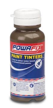 Paint tint brown oxide POWAFIX 100ml