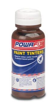 Paint tint raw umber POWAFIX 50ml