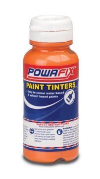 Paint tint bright orange POWAFIX 50ml