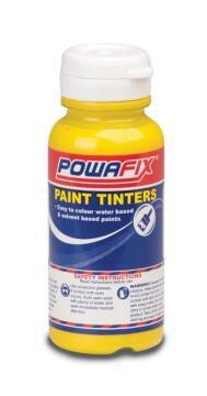 Paint tint bright yellow POWAFIX 100ml