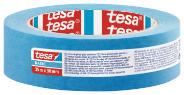 Basic Masking tape UV TESA blue 35m x 30mm