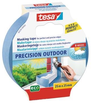 Masking Tape Precision Outdoor TESA blue 25m x 25mm