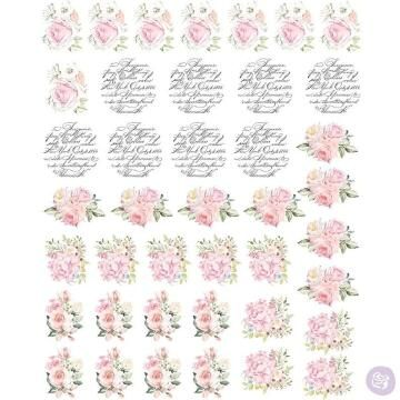 Transfer GRANNY B'S may flowers